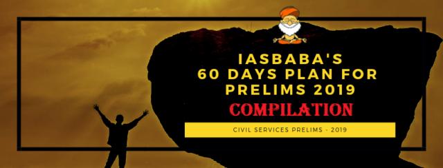 COMPILATION IASBABA'S 60 DAYS PLAN 2019