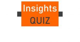 Insight IAS Daily Quiz February 2019