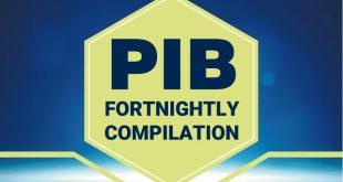 PIB Fortnightly Compilation 1-15 January, 2020: UPSC Exam PIB Summary & Analysis