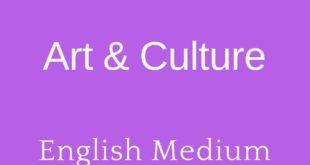 Forum IAS art and Culture Short Notes
