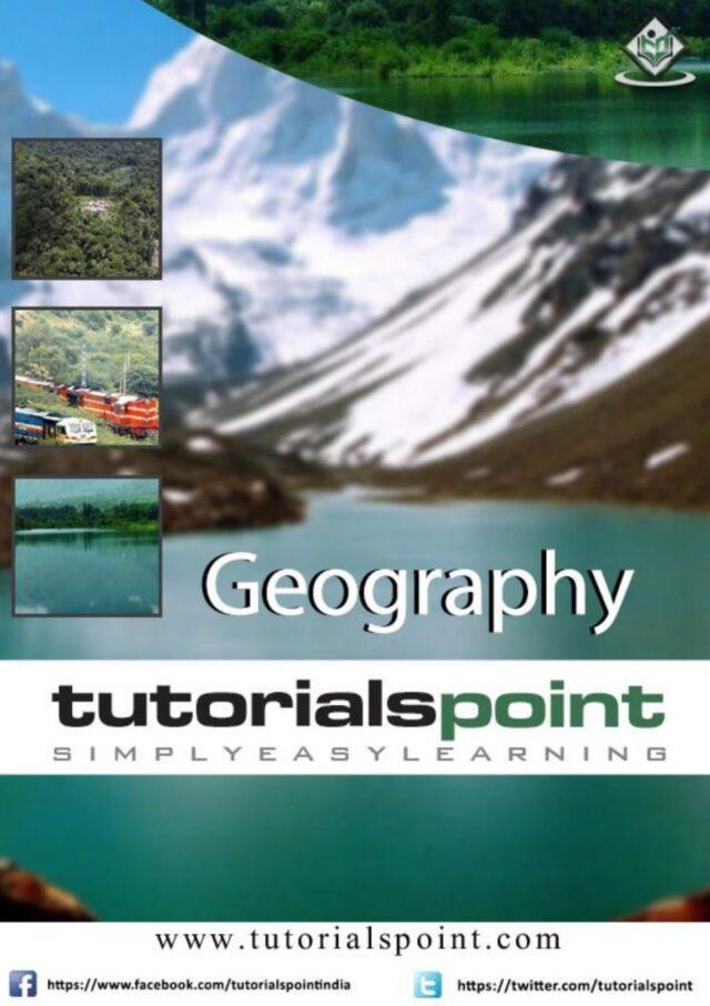 Tutorials Point Geograohy PDF Download