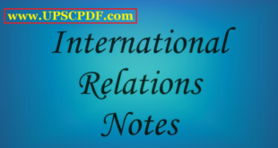 International Relational Updated Notes