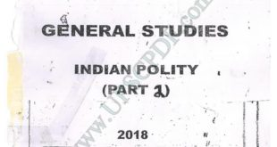 Vajiram and Ravi Indian Polity Printed Notes Part 2