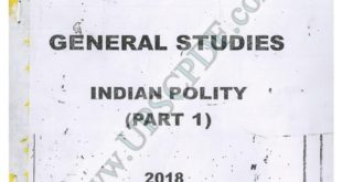Vajiram and Ravi Indian Polity Printed Notes Free Download