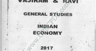 Vajiram and Ravi EconomicsPrinted Notes PDF Download
