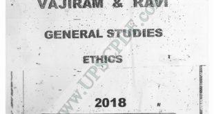 Vajiram and Ravi EthicsPrinted Notes