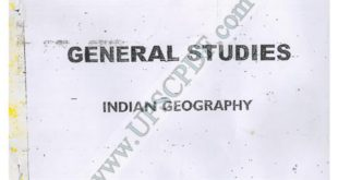 Vajiram and Ravi Indian Geography Printed Notes