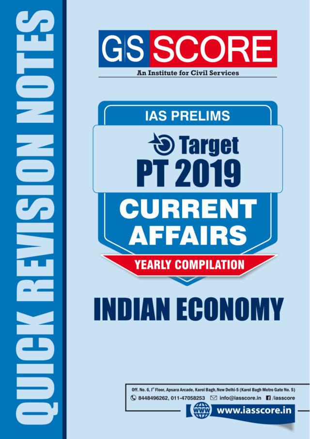 GS SCORE Target 2019 Economy