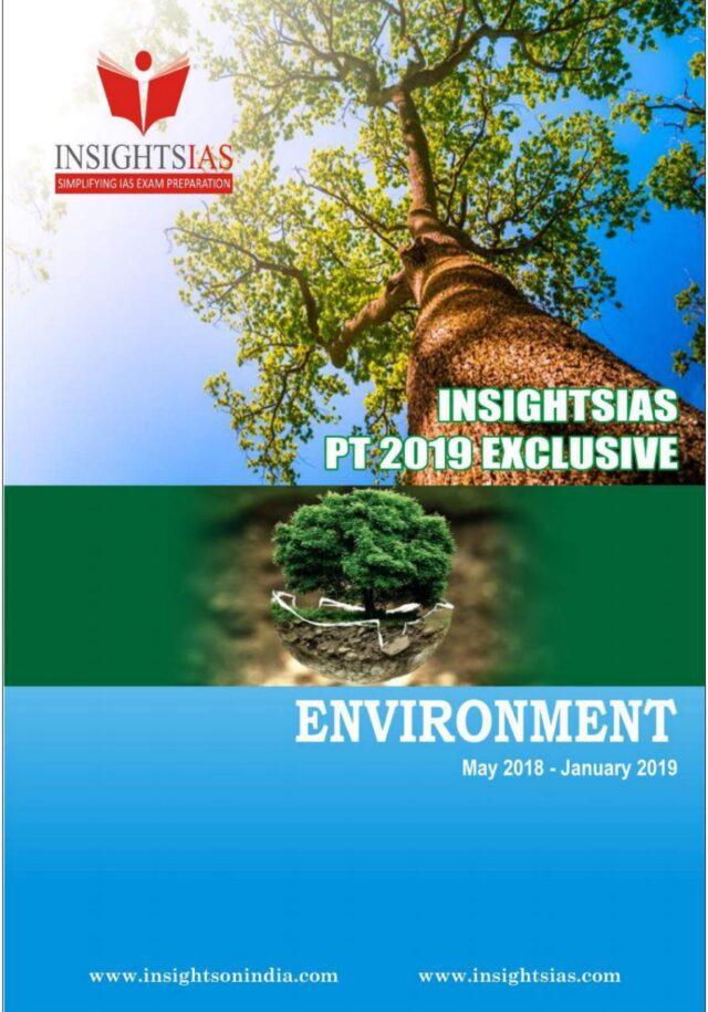 Insight IAS Prelims 2019 Environment Revision Module