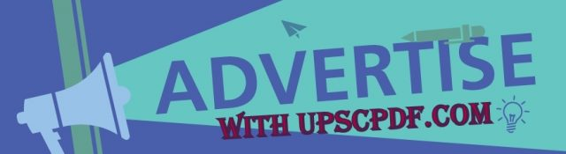 advertise with UPSCPDF