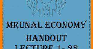 Unacademy Mrunal Handout