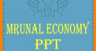 Unacademy Mrunal Economy 2019 PPT