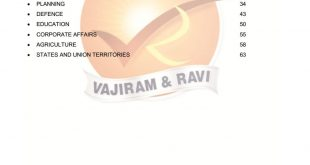 Vajiram and Ravi India Year Book 2019 Summary Part 1