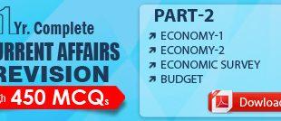 GS SCORE Current Affairs Revision 450 MCQ Part 2 PDF