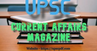 Current Affairs Magazine