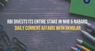 RBI Divests Its Entire Stake in NHB & NABARD