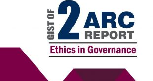 2nd ARC Report on Ethics in Governance
