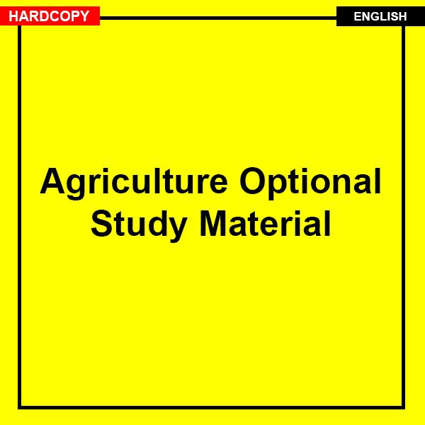 Agriculture Optional Complete Notes